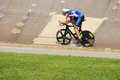 Athlete member of the canadian s team race bromont august unknown on national track championships on august in bromont on Stock Images