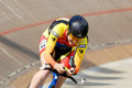 Athlete member of the canadian s team race bromont august unknown on national track championships on august in bromont on Stock Photos