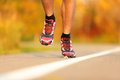 Athlete running shoes Royalty Free Stock Image