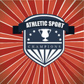 Athletic sport Stock Images