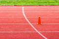 Athletic track for background Stock Images