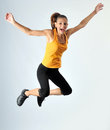 An athletic woman Royalty Free Stock Images
