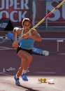 Athletics Championship, Marta Onofre Royalty Free Stock Images