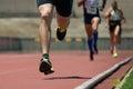 Athletics people running Royalty Free Stock Photo