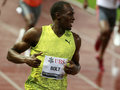 Athletissima 2009 Bolt Royalty Free Stock Photo