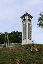Atkinson Clock Tower At Kota Kinabalu Town Royalty Free Stock Photo