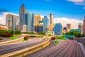 Atlanta, Georgia, USA Skyline Royalty Free Stock Photo