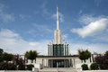 Atlanta, LDS, templo Fotografia de Stock Royalty Free