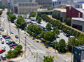 Atlanta Street miniature Royalty Free Stock Photos