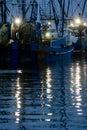 Atlantic boats fishing Στοκ εικόνες με δικαίωμα ελεύθερης χρήσης
