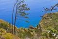 Atlantic Ocean coast on Madeira island, Portugal Royalty Free Stock Photo