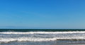 Atlantic Ocean Folly Beach SC Royalty Free Stock Photo