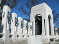 Atlantic WWII Memorial Royalty Free Stock Photo