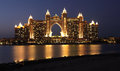 Atlantis, The Palm Hotel in Dubai Stock Photography