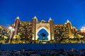 Atlantis the palm hotel in dubai united arab emirates uae november on november uae is a luxury star built on an artificial island Stock Images