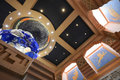 Atlantis resort and casino astrological interior Stock Photo