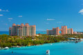 Atlantis resort and casino on paradise island nassau bahamas Stock Photography