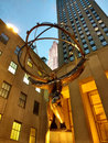 Atlas Statue, New York City, NY, USA Royalty Free Stock Photo