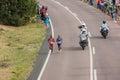 Atleet runners comrades marathon Stock Afbeeldingen