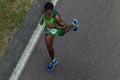 Atleta runners comrades marathon Immagine Stock