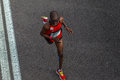 Atleta runners comrades marathon Fotografía de archivo