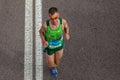 Atleta runners comrades marathon Fotografia Stock Libera da Diritti