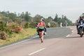 Atleta runners comrades marathon Fotos de Stock