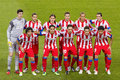 Atletico de Madrid team Royalty Free Stock Image