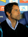 Atletico Madrid coach Quique Sanchez Flores Stock Photos