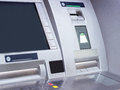 Atm cash machine automated teller close up Stock Photography