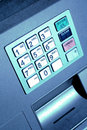 ATM Keypad Royalty Free Stock Images