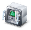 ATM machine Royalty Free Stock Photo