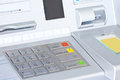 Atm for withdraw your money close up Royalty Free Stock Image
