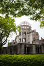 Atomic Bomb Dome, Hiroshima Royalty Free Stock Image