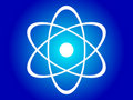 Atomic structure Stock Photography