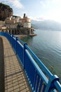 Atrani panoramic Royalty Free Stock Photos