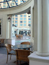 Atrium view of Luxury hotel Stock Images