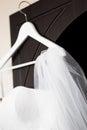 Att gifta sig som är brud-, skyler Royaltyfri Foto
