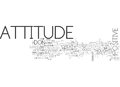 Attitude Determines Altitude Word Cloud Royalty Free Stock Photo
