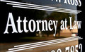 Attorney at Law Royalty Free Stock Photo