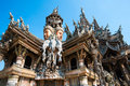 Attracting Pattaya The Santuary of truth Thailand Stock Image