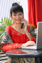 Attractive Asian Girl Royalty Free Stock Photos