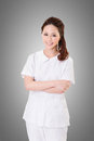 Attractive Asian nurse Royalty Free Stock Photo