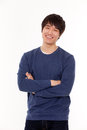 Attractive Asian young man Royalty Free Stock Photo