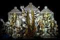 Attractive Durga Puja Idols , Kolkata, Royalty Free Stock Photo