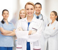 Attractive female doctor Royalty Free Stock Photo