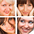 Attractive women Royalty Free Stock Images