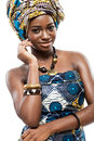 Attractive young African fashion model. Royalty Free Stock Photography