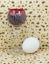 Attributes of jewish passover seder celebration is one the main celebrations Stock Image