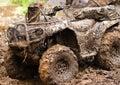 ATV Enduro Royalty Free Stock Photo